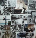 Das Leben - Maße: 50 x 60cm    Bilderrahmen verglast, schwarzes Aluprofil (Galeriequalität).  50€