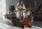 Holzsegelschiff
