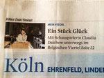 Kölner Stadtanzeiger, März 2014, Artikel: Siehe oben!