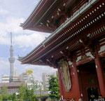 浅草寺とスカイツリーのコラボ!