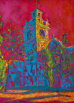 """""""Plaza del Convento"""". Oleo sobre lienzo. 80 cm x 60 cm"""