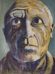 """Picasso"". Oleo sobre lienzo. 80 cm x 70 cm"