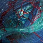 """""""Stillleben des Universums - II"""" (90x90) 2013"""