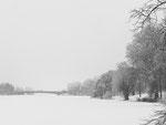 Der Aasee im Winter