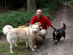 Ralf Seeger und seine Hunde