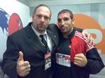 Ralf Seeger und Boxer Firat Arslan