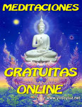 Asiste a MEDITACIONES GRATUITAS DIRIGIDAS ONLINE cada semana.
