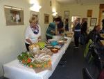 Ein reichhaltiges Buffet mit herbstlichen Spezialitäten aus der Region wurde den Besuchern beim diesjährigen Olfener Kelterfest geboten.