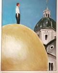 Die Balkenholkugel - Acryl 60 x 80