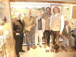 Dieses Jahr nur Engländerzüchter aus der Gruppe Süd.v.li. Zfr. Froschmeier, Zfr. Schuster/Österreich, Zfr. Roland Vogel, Zfr. Nawrotzky, Zfr. Schimpf.