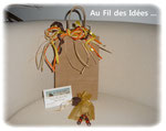 """Boucles d'oreilles """"Automne"""" - 2 novembre 2011"""