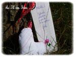 Marque-Page dédicacé et Porte-Clef coeur - Créa Juillet 2012