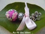 """Boucles d'oreilles """"Voià l'Eté !"""" - Créations mai 2011"""