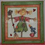 "Cadres ""Eva"" (20 x 20 cm) - Création 2007"