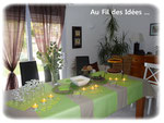 """Buffet dessert """"Vert Anis"""" - 9 octobre 2011"""