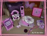 """Série """"Rose Bonbon"""" & autres créa's pour petites Filles - Créations à partir de septembre 2010"""