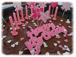 Gâteau Anniversaire Petite Fille - Au Fil des Idées - Septembre 2014