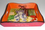 """Vide poche """"Le Pique-nique"""" (20 x 20 h4) - Création avril 2010"""