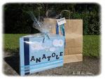 """Tableau Prénom """"ANATOLE"""" made in Au Fil des Idées - Créa Juin 2013"""