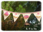 Candy Bar - Fanions couleur vrose - Sept 2012