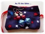 """Boucles d'oreilles """"AdO"""" - Création juillet 2011"""