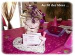 """Invitation made in """"Au Fil des Idées"""" pour anniversaire """"F comme Fille !"""" - Septembre 2011"""