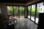 Pavillion Suite Eingangsbereich