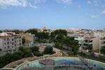 Colonia St. Jordi vom Dach des Aquariums