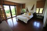 Pavillion Suite Schlafbereich