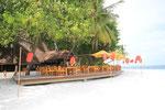 Riveli-Restaurant Außenterasse