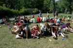Groeifeestmoment met de hele klasgroep