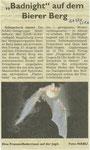 Ankündigung im Generalanzeiger vom 25. August