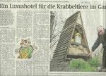 """Volksstimme Sachsen-Anhalt vom 29. Mai 2010/ Serie """"Mein Garten - meine Welt"""""""