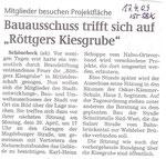 Volksstimme Schönebeck vom 17. April 2009