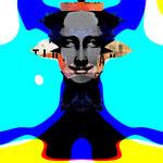 Marianne Demmer The Last Mona Lisa colour 2021 #Inspiration #Mona Lisa #Jonathan Santlofer #Buchcover #Sommerlektüre