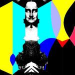 Marianne Demmer The Last Mona Lisa very coloured 2021 #Inspiration #Mona Lisa #Jonathan Santlofer #Buchcover #Sommerlektüre