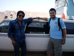 with the crew from America sin Limites in Nazca, Peru (Jul 2012)