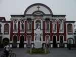 the only Catholic Church in Chengdu on our Monday night bike ride