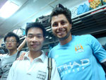 meeting some of the locals on the train in China from Guangzhou to Guillin... (Aug 2011)