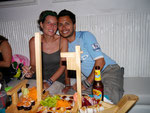 sushi night in Cartagena, Colombia (Sep 2012)