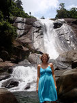 Langkawi, Gorgeous waterfall we swam in