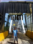 crossing the Panamaian / Costa Rican frontera (Oct 2012)