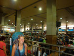 In the Waiting Hall at Chengdu Railway Station enroute to Xian...what an experience!