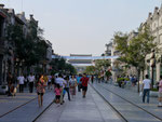 Pedestrian Mall near Tiananmen Square