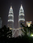 The gorgeous Petronas towers