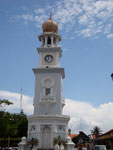 Georgetown, Penang leaning clock tower
