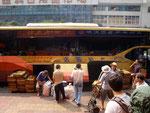 arriving in Chongqing