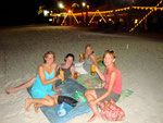 Our great picnic and drinks on the beach in Langkawi