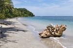 Strand im Parque Nacional Cahuita