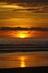 Sonnenuntergang an der Playa Barú